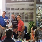 Adam Scott Trophy Winners Barry Smith and Claudio Sequeira