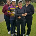 2016 Club Foursome Champion Finalists Young Mi Ko & Julie Crafter vs Valli Kemp & Maria Godlevsky