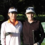 2016 Ladies Championships B Grade FInalists Sarah Jung and Elizabeth Shapcott